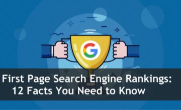 First Page Search Engine Rankings